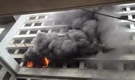 Cháy lớn tại bệnh viện Nhiệt Đới đúng ngày đầu năm 2016