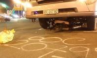 """Xe container """"nuốt"""" xe máy, 1 người tử vong"""