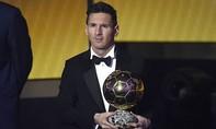 Messi giành Quả bóng Vàng thứ 5 trong sự nghiệp
