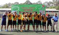 Kết thúc Giải bóng đá Cụm Đoàn khối khu vực phía Nam năm 2016