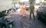 Chạy ẩu, xe máy gây tai nạn liên hoàn