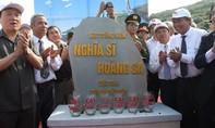 Đặt viên đá đầu tiên xây dựng khu tưởng niệm nghĩa sĩ Hoàng Sa