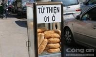 Thùng bánh mì miễn phí giữa lòng Sài Gòn