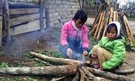 Người dân Keng Đu vất vả trong giá rét