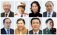 Danh sách Bộ Chính trị và Ban Bí thư Trung ương Đảng khoá XII