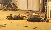 Xe máy tông nhau, 2 người chết, 1 người nguy kịch