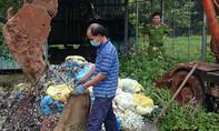 Một bệnh viện đa khoa chôn rác trộm bị đề nghị phạt tiền tỉ