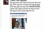 Xuất hiện thông tin người nuôi giữ cháu Lương Thế Vượng trên facebook