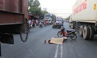 Va chạm xe container, một người chết tại chỗ