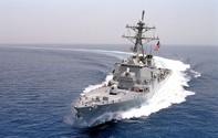 Mỹ điều tàu khu trục áp sát đảo Tri Tôn ở Hoàng Sa