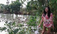 Nữ Việt kiều Nga nuôi vịt trời trên cù lao giữa sông Đồng Nai