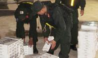 Bắt đối tượng nhận chở 2.500 bao thuốc Jet lậu