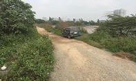 Vụ cướp xe ô tô chở vàng ở Hà Nội:  Xe ô tô bị vứt bên đường