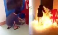 Sống ảo trên facebook, nữ sinh lớp 8 mua xăng đốt trường