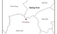 Quảng Nam: Liên tiếp xảy ra động đất mạnh hơn 3 độ Richter