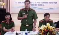 Bồi dưỡng thêm kỹ năng cho Cảnh sát môi trường