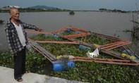 Hà Tĩnh: Lũ cuốn sạch làng cá lồng bè khiến dân khốn đốn