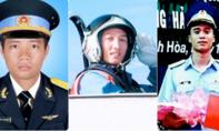 Truy thăng quân hàm cho 3 phi công hy sinh khi bay huấn luyện