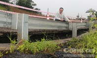 Đường nghìn tỷ qua Đắk Nông bị sụt lún nghiêm trọng