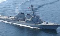 Tàu khu trục Mỹ USS Decatur tuần tra sát Hoàng Sa