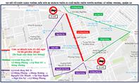TP.HCM: 3 tuyến đường cấm ô tô khách trên 25 chỗ lưu thông