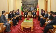 Bộ trưởng Bộ Công an Tô Lâm tiếp đoàn đại biểu cấp cao An ninh Cộng hòa Bulgaria