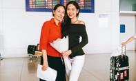 Á khôi Phương Linh về nước sau khi trượt top 15 Hoa hậu Quốc tế