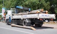 Bé trai 15 tuổi bị thân cây dừa đè chết trên đường