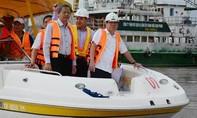 Chủ tịch UBND TP Nguyễn Thành Phong: Cần đẩy nhanh dự án xây đập chống ngập