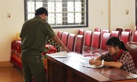 """Công an huyện Quỳnh Lưu điều tra nhóm học sinh """"xử"""" bạn vì mâu thuẫn"""