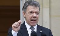 Tổng thống Colombia lãnh giải Nobel hoà bình
