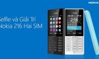 Mua Nokia 216 giá 820 nghìn đồng được tặng thẻ nhớ 8GB