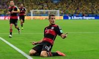 Cầu thủ ghi nhiều bàn thắng nhất World Cup treo giày