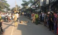 Nam thanh niên bị xe tải kéo lê trên đường, tử vong