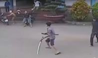 Bắt hai nhóm côn đồ hỗn chiến kinh hoàng trong bệnh viện