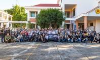 CSGT và CLB 1St Saigon Free Chapter tuyên truyền về giao thông cho học sinh