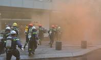 Hơn 200 lính cứu hoả diễn tập chữa cháy tòa nhà cao nhất TP.HCM