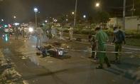 Tránh vũng nước, nam thanh niên bị xe container cán chết thảm