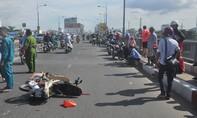 Va chạm liên hoàn trên cầu vượt Nguyễn Văn Cừ khiến một người chết tại chỗ