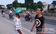 Say rượu điều khiển xe máy gây tai nạn còn đánh người gây thương tích