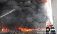Cháy lớn tại cơ sở sản xuất bia trong khu công nghiệp