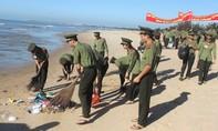 Hơn 60 sinh viên An ninh ra quân bảo vệ môi trường biển