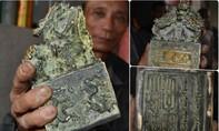 Người dân tìm được vật có 9 đầu rồng, nghi ấn tín của vua