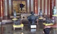 Bức ảnh người ngồi trên ngai vàng ở điện Thái Hòa là ảnh ghép