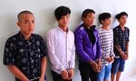 Thiếu tiền 'đập đá', 5 thanh niên đi trấn cướp liên tiếp
