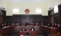 Thí điểm trang phục xét xử mới của Thẩm phán Tòa án nhân dân