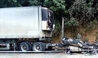 Hai tài xế Việt bị chết cháy tại cửa khẩu Trung Quốc