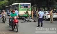 Va chạm xe buýt khi vượt mặt, người đàn ông tử vong tại chỗ