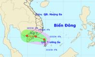 Áp thấp nhiệt đới tiến vào Sài Gòn và các tỉnh Nam bộ