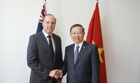 Bộ trưởng Tô Lâm thăm và làm việc tại Australia